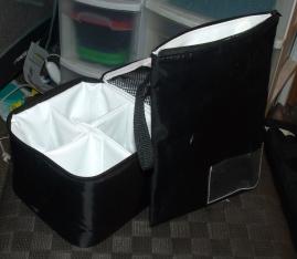 Divided cooler bag & wet bag